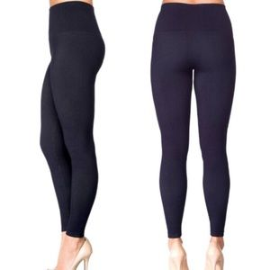 Love Your Assets By SPANX Leggings: Denim Blue